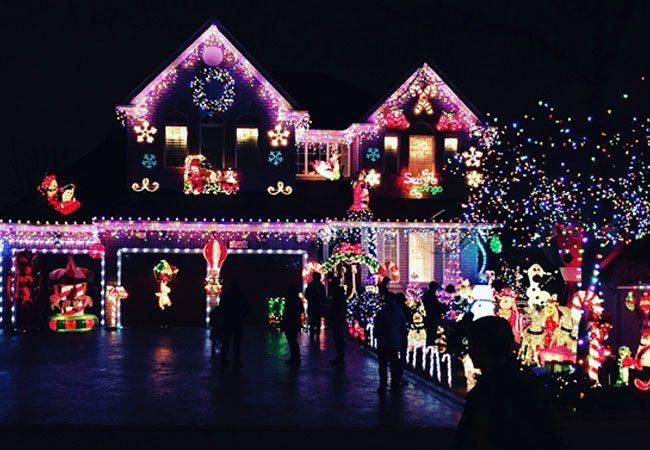 Christmas Light Installation.Christmas Lights Installers Fort Collins Lighting
